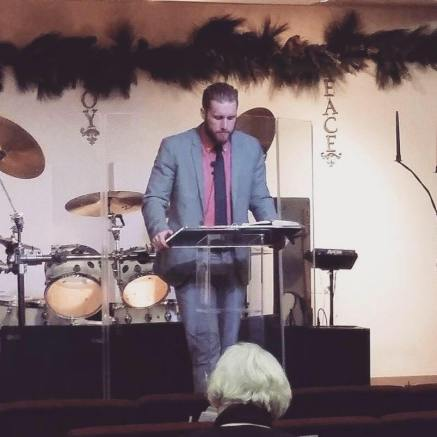 Preaching at Living Water